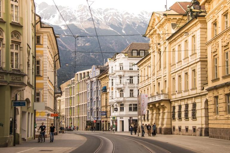 Innsbruck steet view