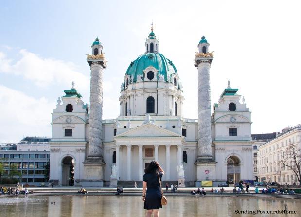 Vienna Karlskirche Cathedral