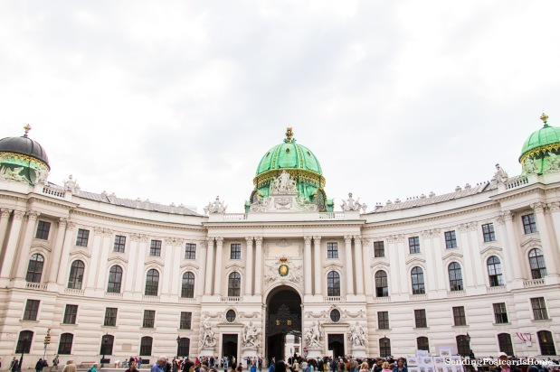 Vienna winter palace Hofburg