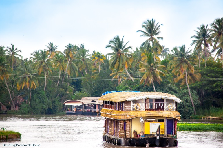 Alleppey, Kerala, India - Sending Postcards Home 1