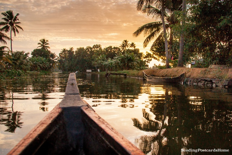 Alleppey, Kerala, India - Sending Postcards Home 14