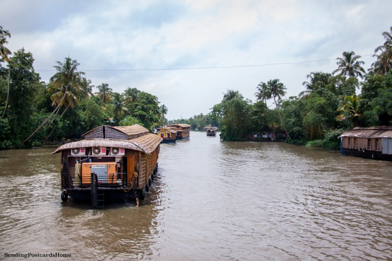Alleppey, Kerala, India - Sending Postcards Home 2