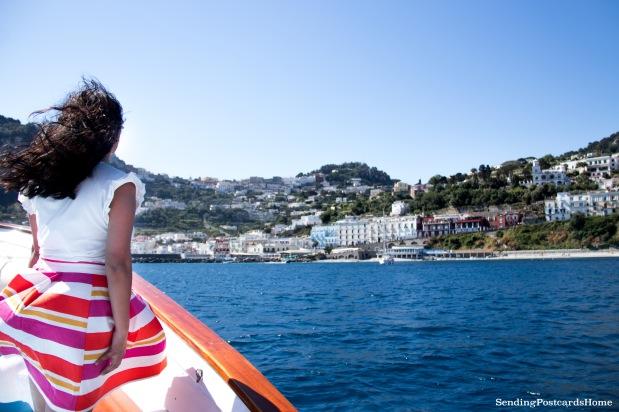Boat ride in Capri Island, Italy 1