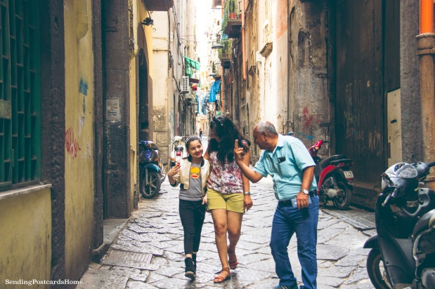 Streets of Naples, Italy 1