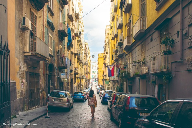 Streets of Naples, Italy 7