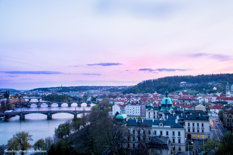 Top View Prague 1