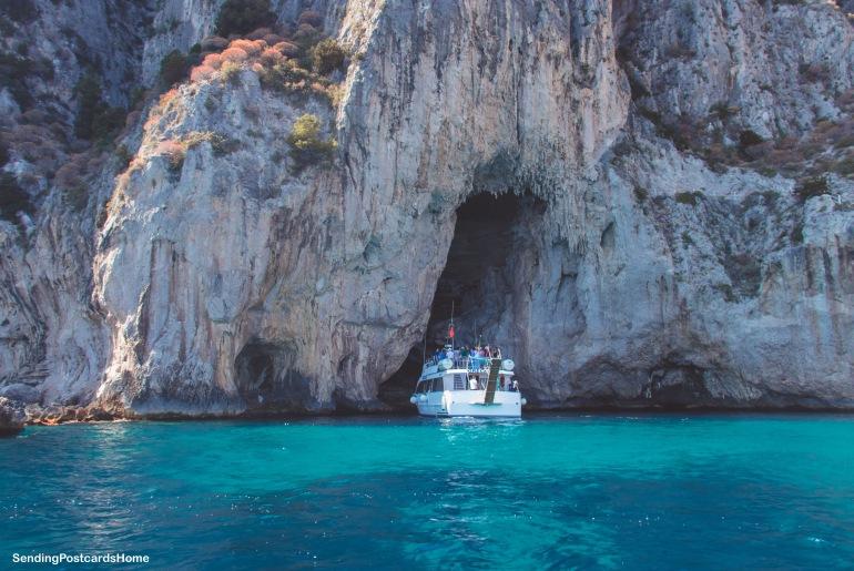 Capri, Italy - Boat ride around the island - View 1