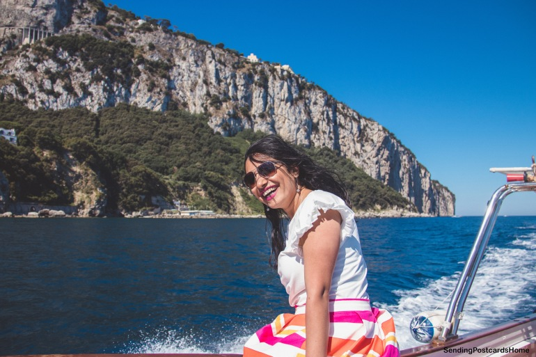 Capri, Italy - Boat ride around the island - View 5