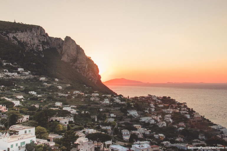 Capri, Italy - Sunset View 7