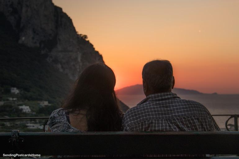 Capri, Italy - Sunset View 9