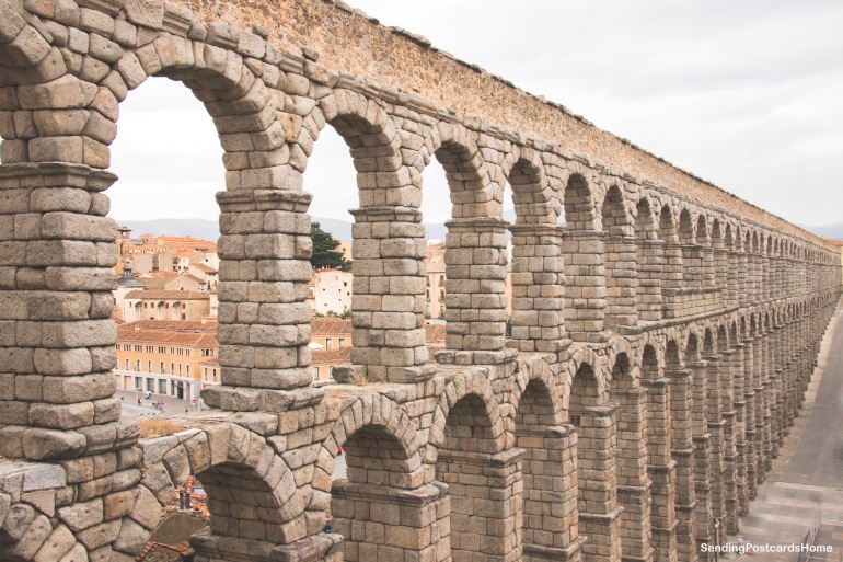 Segovia, Madrid, Spain - Aqueduct 1