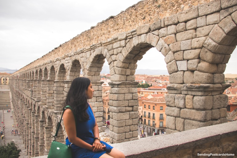Segovia, Madrid, Spain - Aqueduct 2