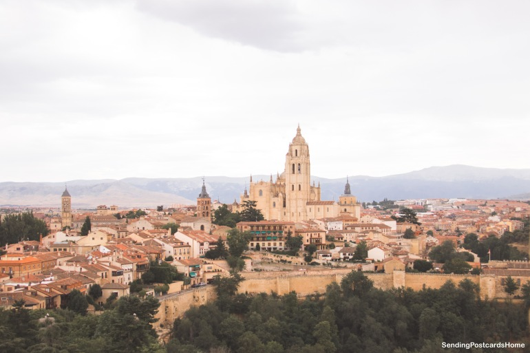 Segovia, Madrid, Spain - Top Landscape City View 1