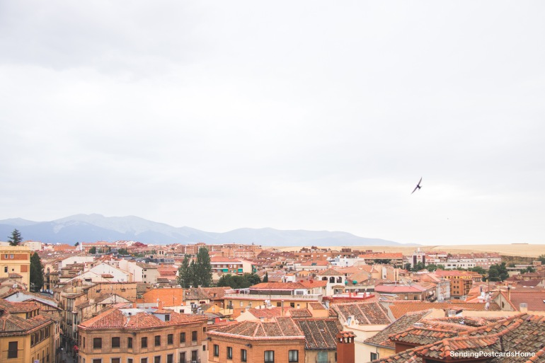 Segovia, Madrid, Spain - Top Landscape City View 3