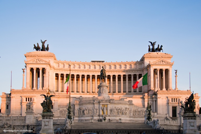 Altar of the Fatherland, Rome, Italy - Travel Blog 1