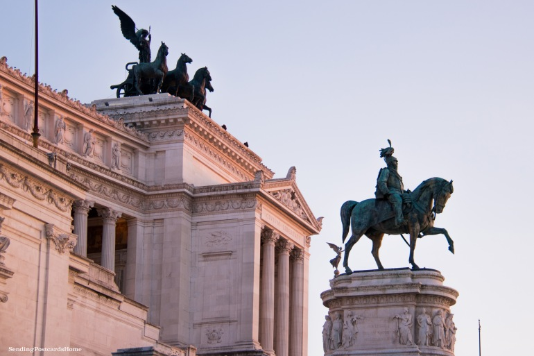 Altar of the Fatherland, Rome, Italy - Travel Blog 2