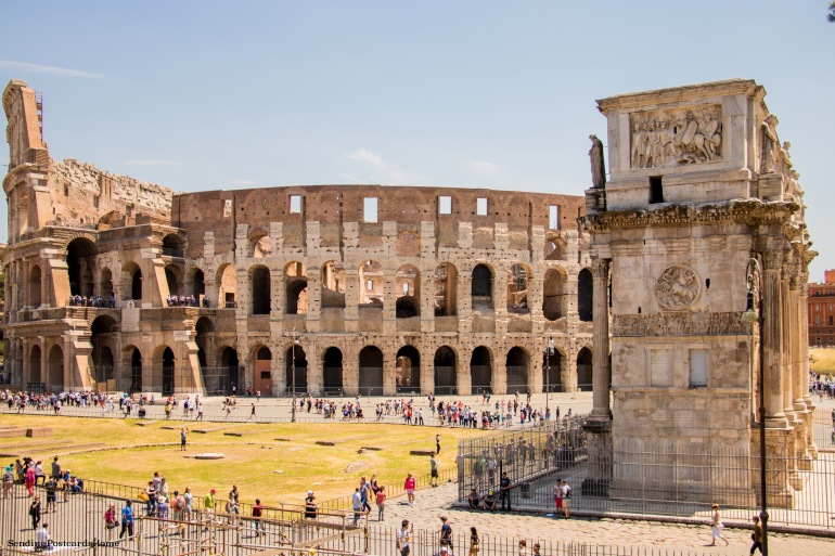 Colosseum, Rome, Italy - Travel Blog 8