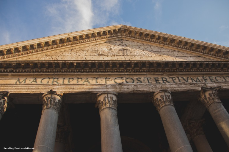 Pantheon, Rome, Italy - Travel Blog 1