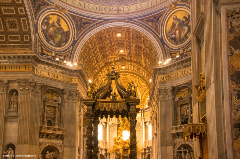 St. Peter's Basilica, Vatican City, Rome, Italy - Travel Blog 1