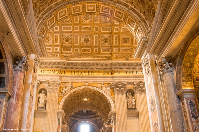 St. Peter's Basilica, Vatican City, Rome, Italy - Travel Blog 4