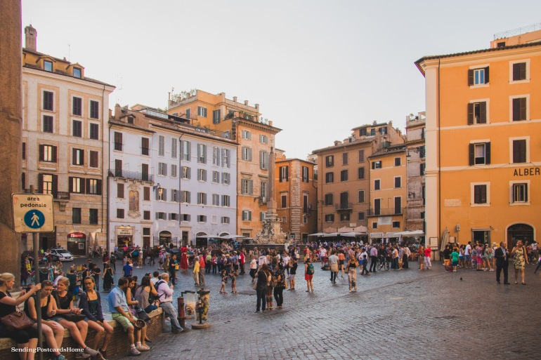Streets of Rome, Italy - Travel Blog 3