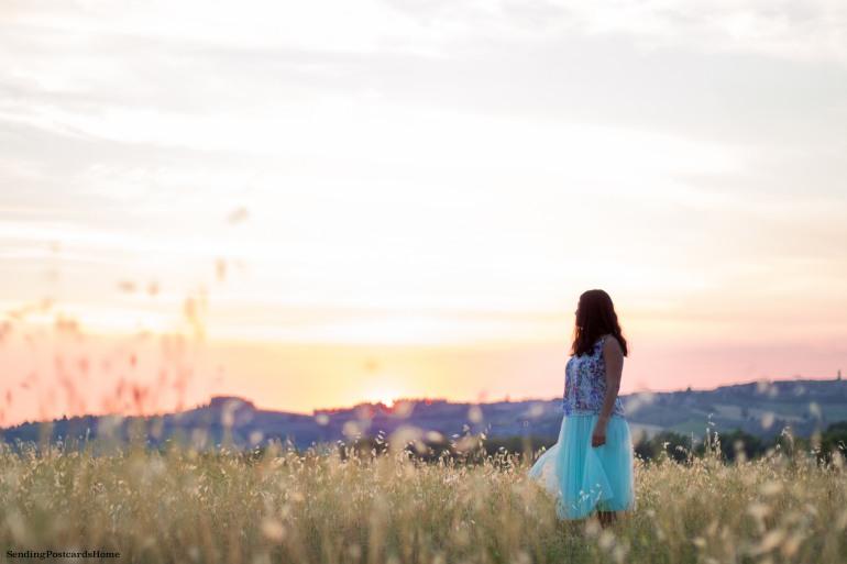 Chianti, Tuscany, Italy - Tuscan Villa, Sunset View, Vineyards- Travel Blog 2
