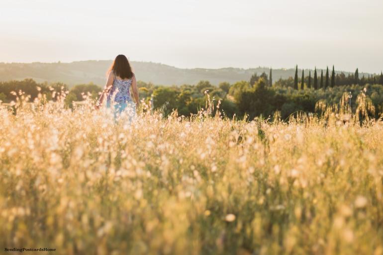 Chianti, Tuscany, Italy - Tuscan Villa, Sunset View, Vineyards- Travel Blog 5