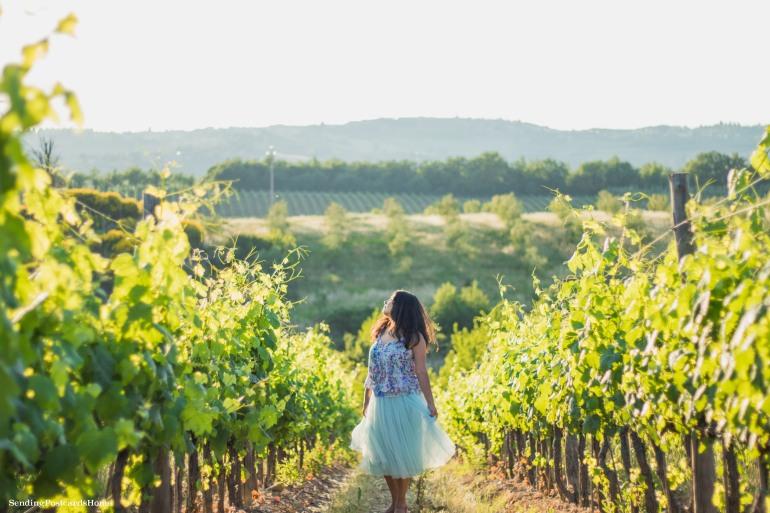Chianti, Tuscany, Italy - Tuscan Villa, Sunset View, Vineyards- Travel Blog 8