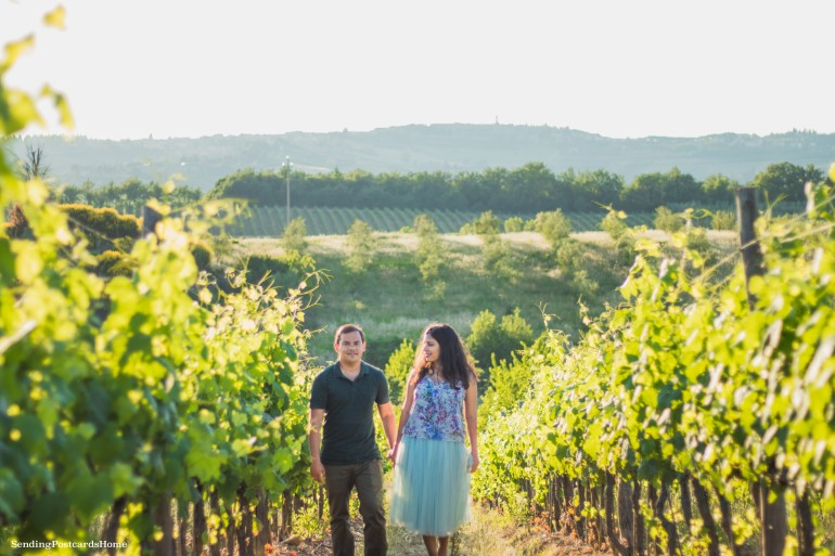 Chianti, Tuscany, Italy - Tuscan Villa, Sunset View, Vineyards- Travel Blog 9