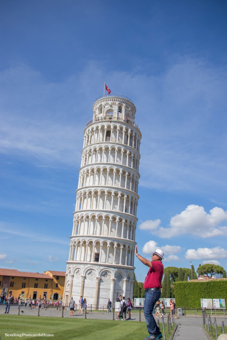 Leaning tower of Pisa, Italy - Travel Blog 1