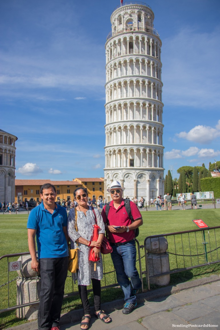 Leaning tower of Pisa, Italy - Travel Blog 3