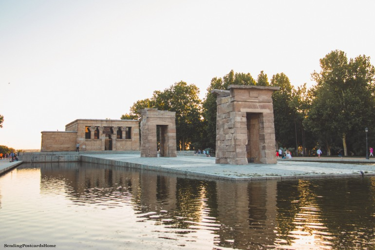 Debod Egyptian temple, Spain, Madrid - Travel Blog 2