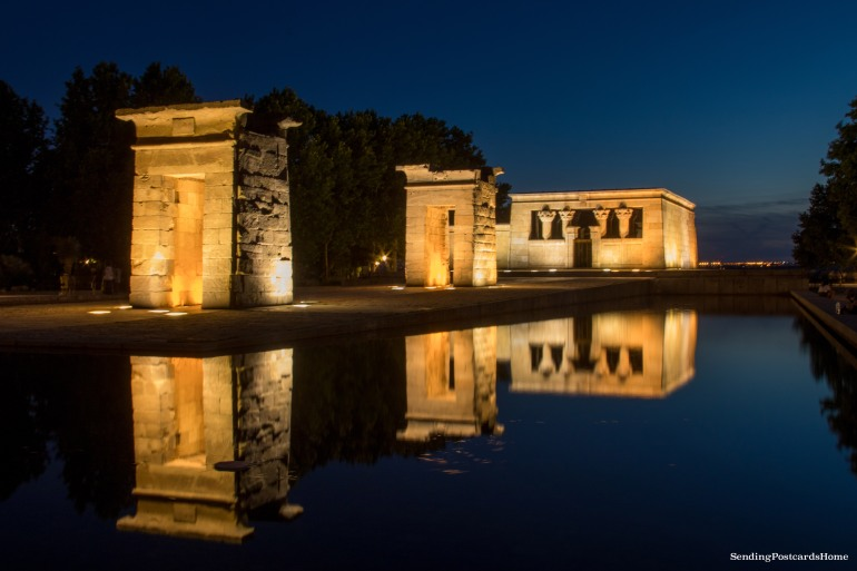 Debod Egyptian temple, Spain, Madrid - Travel Blog 5