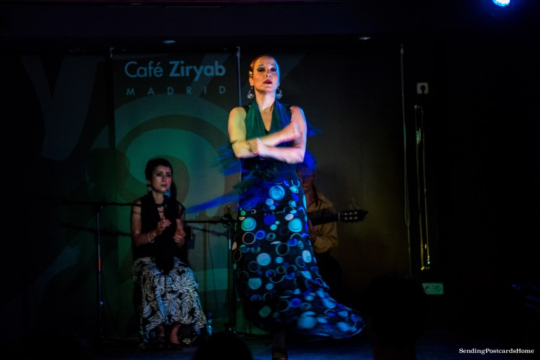 Flamenco Dance, Cafe Ziryab, Madrid, Spain - Travel Blog 1