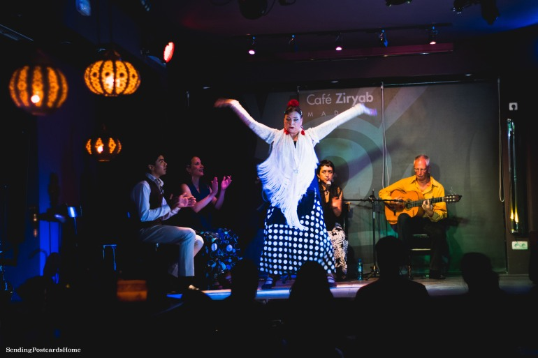 Flamenco Dance, Cafe Ziryab, Madrid, Spain - Travel Blog 2