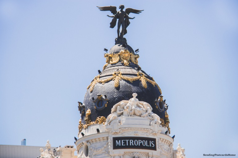 Metropolis Building, Madrid, Spain - Travel Blog 1