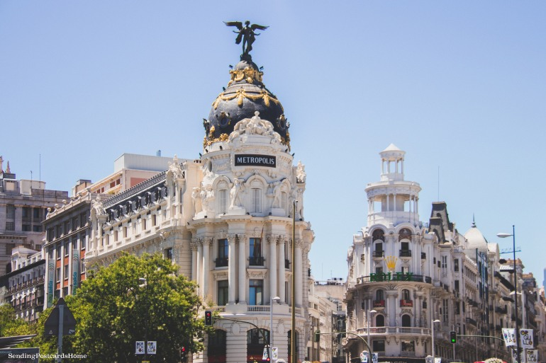 Metropolis Building, Madrid, Spain - Travel Blog 2