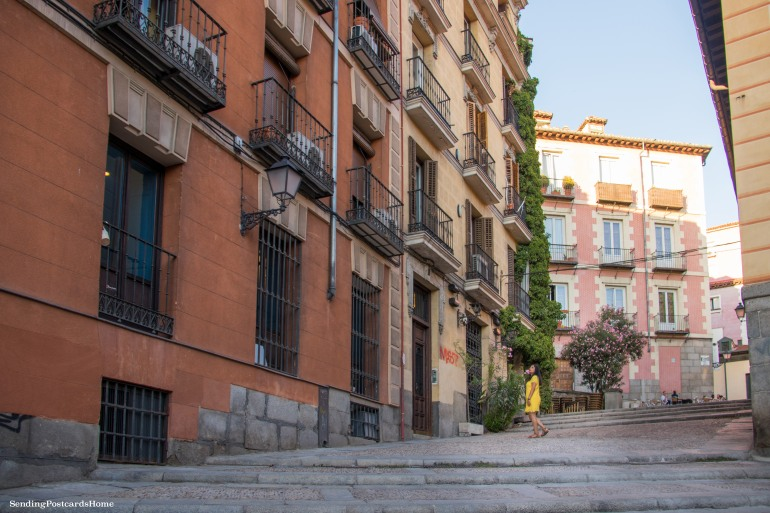 Streets of Madrid, Spain - Travel Blog 2